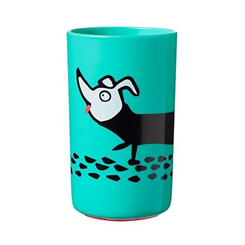 Tommee Tippee Vaso para Niños Super Cup, Grande, Diseño Inteligente con Base Adherente, A Partir de 18 Meses, Azul