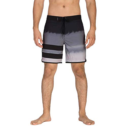 Hurley Herren Boardshort M Phantom BP Fever, Black, 36, AV8232