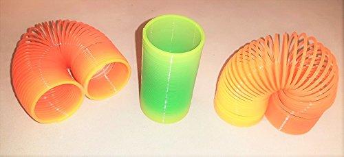 Lexys 3 x Sprungspiralen Spirale Regenbogenspirale Treppenläufer NEU OVP! Seht! Kleinteil/Mitgebsel!!! Kindergeburtstag!!