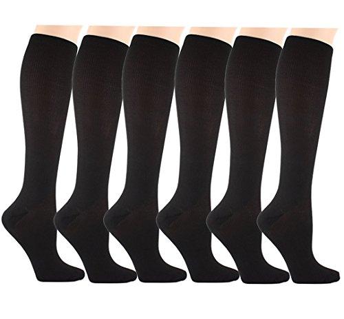Matchwill 6 Paire Chaussettes de Compression pour...