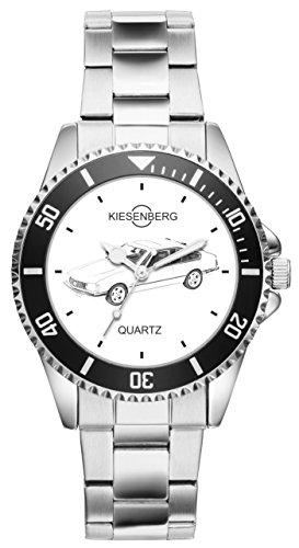 Kiesenberg Uhr 20068 Geschenk Artikel für Opel Monza Oldtimer Fans und Fahrer