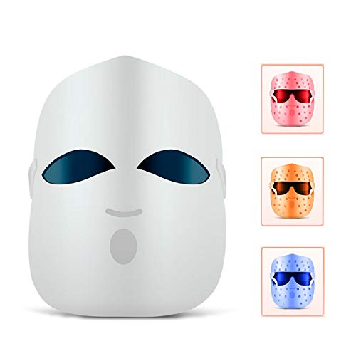 GYNFJK Home beauty instrument gezicht foton huid verjonging instrument LED Photon Therapie masker Whitening Skin Verjonging spectrometer