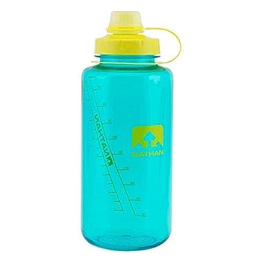 Nathan Sports Water Bottle, BPA Free Water Bottle, 32oz Water Bottle, 32oz/1Liter
