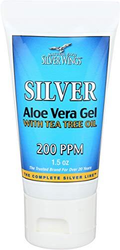 Natural Path Silver Wings, Colloidal Silver Aloe Gel, 1.5 Ounce