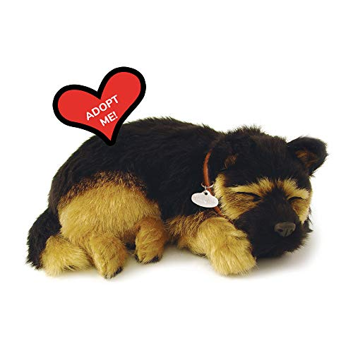 Original Petzzz German Shepherd, Realistic, Lifelike Stuffed Interactive Pet Toy, Companion Pet Dog with 100% Handcrafted Synthetic Fur – Perfect Petzzz