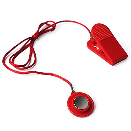 WoodTree Cinta de correr Interruptor de seguridad magnético Magnético Universal Cinta de correr Bloqueo Magnético Cinta de correr Dispositivo de tope de emergencia Accesorios de cinta de correr Adecua