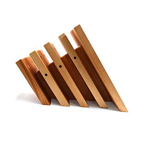 Bloque de cuchillo de cuchillo magnético fuerte Holder Magnético de madera Bloque de bloqueo Soporte Seco transpirable CUCHILLO DE CUCHILLO DE COCCIÓN MARCO DE COCINA ACCESORIOS DE CUCHILLOS DE CUCHIL
