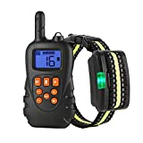 Dog Training Collar, Rechargeable Dog Collar with Vibration,...