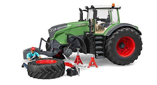 Bruder 04041 - Fendt 1050 Vario mit Mechaniker und Werkstattausstattung
