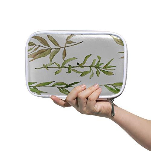 Filles suspendus trousse de toilette saule vert doux longues branches sacs de cosmétiques pour femmes grands sacs de maquillage pour femmes pochette multifonctionnelle Fanny pour stylos pour hommes