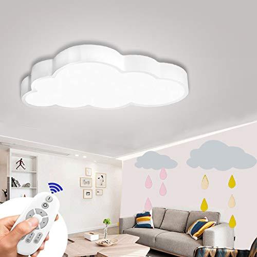 BFYLIN 48W LED Dimmbar Deckenleuchte Wolken Deckenlampe Wohnzimmer Lampe Schlafzimmer Küche Leuchte Energie Sparen Licht (Wolken-48W Dimmbar)
