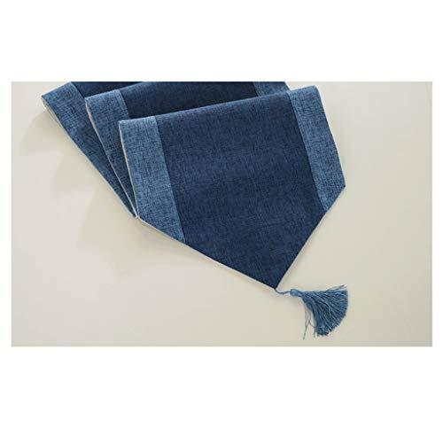 LCSHAN Table Runner Strip Strip Fabric Modern Simple Cotton Linen 32 * 180CM