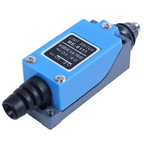 Andifany ME-8111 AC250V / 5a DC115V / 0.4a DPST Interruptor de LíMite de Ca MomentáNeo para Fresadora CNC