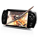 MUS RUN Handheld Game Console, Portable Video Game Console 5 'Screen 2800 Classic Games, Support / GBA / GBC / NES / BIN / SMC, Best Gift for Adults or Kids…