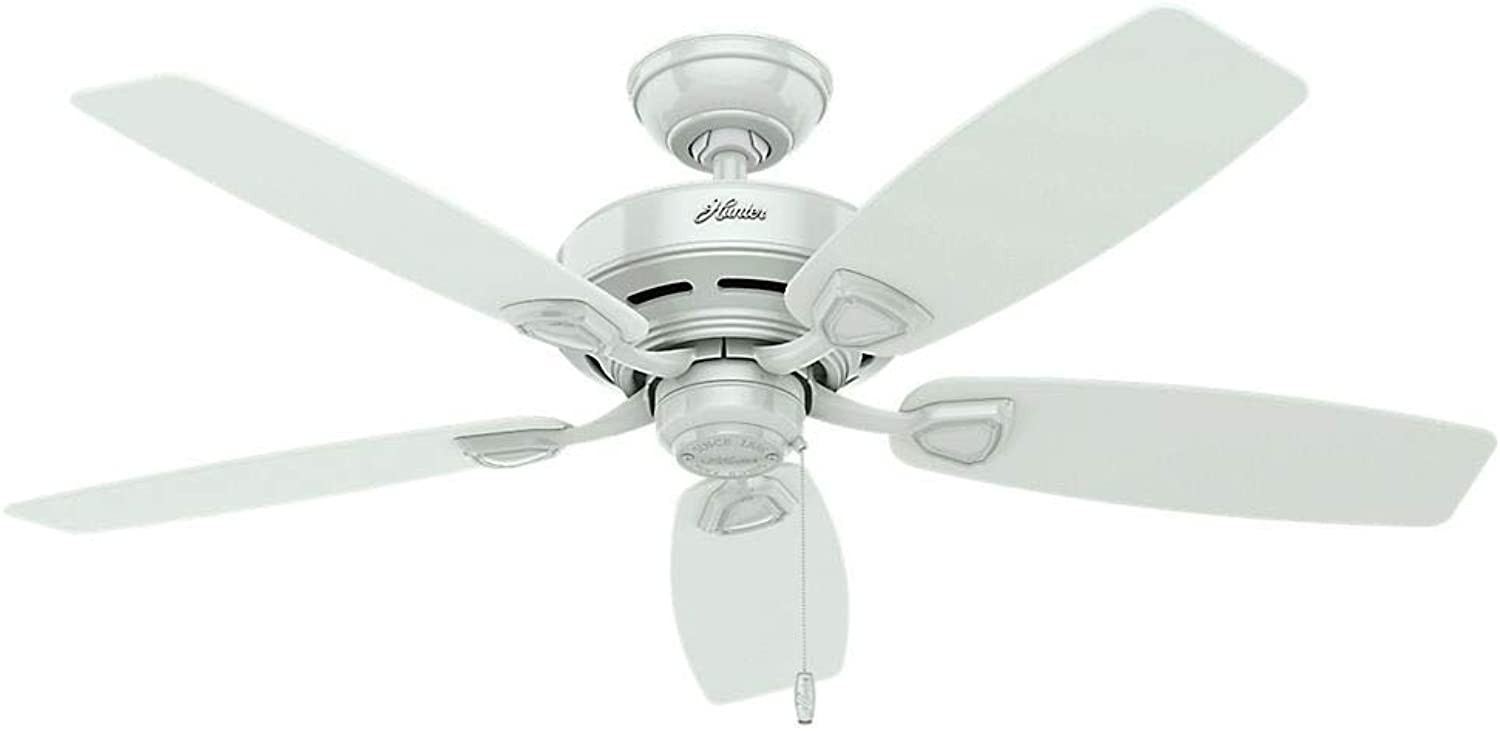 Hunter Fan Company 53350 Hunter 48  Sea Wind White Ceiling Fan,