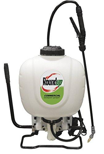 Roundup 190426 Rucksacksprüher für Profis mit Unkrautvernichter und Dünger, 4 Liter