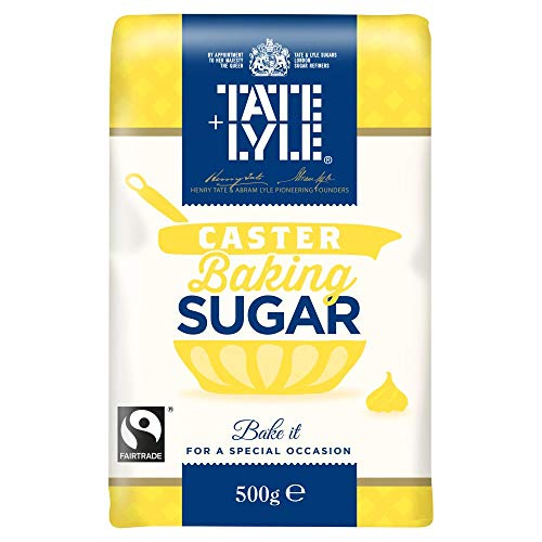 Tate & Lyle Fairtrade Caster Sugar (500g) - Pack of 2