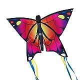 CIM Cerf-volant papillon - Butterfly PINK – Cerf-volant monofil pour enfants à...