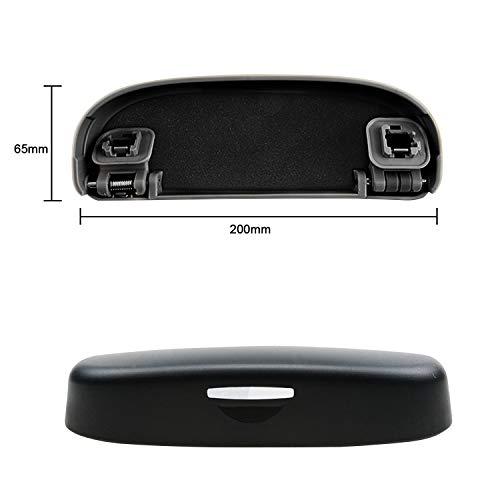 BIXUAN Auto Custodia per Occhiali Compatibile con Toyota C-HR / RAV4 XA50/ Corolla Sports E210 Portaocchiali Modifica degli interni Organizzatore Occhiali Multifunzione Scatola porta