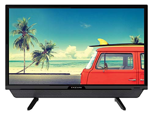 Kevin 60 cm (24 Inches) HD Ready LED TV KN24832 (Black) | With Inbuilt Soundbar (2021 Model)