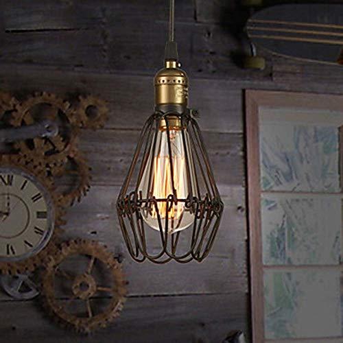 LWX Accesorio De Iluminación De Araña De Hierro Forjado Pintado Negro LED 40W