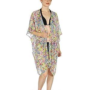 Kimonos for Women | Sheer Kimono Cardigan | Beach Cover Ups | Womens Kimono Robe