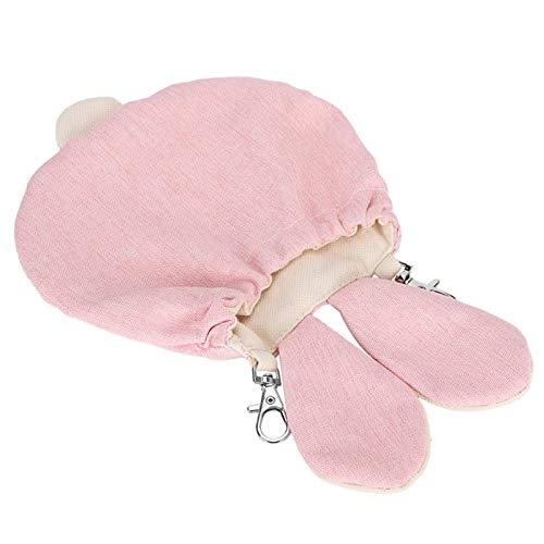 Jeanoko Túnel de mascotas de algodón jaula ocultar y buscar suministros para mascotas pequeñas (código S)