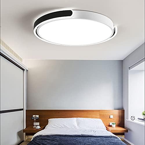 ZHANGQ Luz de techo LED regulable 3000K / 4000K / 6000K luz de techo ajustable panel LED Luz de techo de iluminación interior redonda delgada moderna/D / 58×5cm