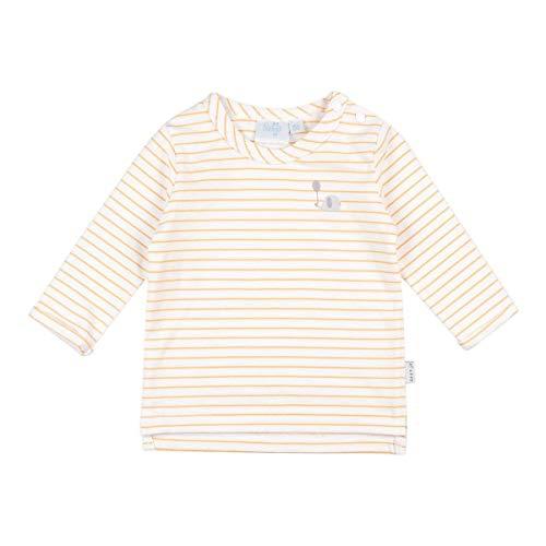 Feetje T-shirt rayé manches longues top bébé vêtements bébé, naturel/jaune