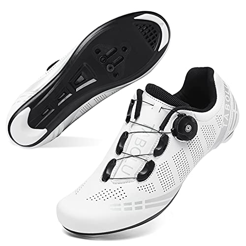JOINFREE Women Bike Shoes with Delta Cleats Set SPD Men Spinning Cycling...