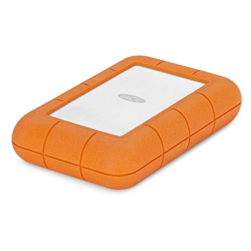 Lacie Rugged RAID Pro 4TB USB-C hard disk portatile + 1Mo Adobe CC tutti Apps (STGW4000800)