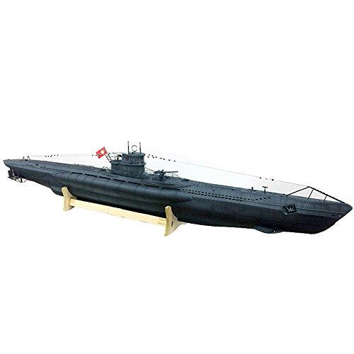HOOBEN ARKMODEL 1:48 VIIC Deutsches U-Boot mit Einkolben-Tank WTC Water Zylinder KIT (VIIC KIT +WTC Single Piston Tank) [ C7602K+W7602PSK ]
