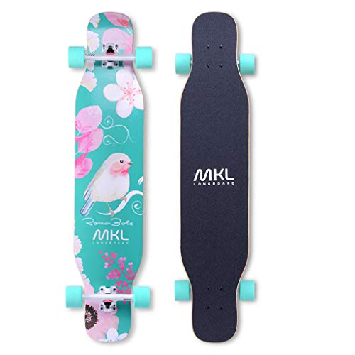 Learn More About LLH-MOTION Freestyle Longboard 43x 9.2 inch Beginners Professional Dance Board Long...