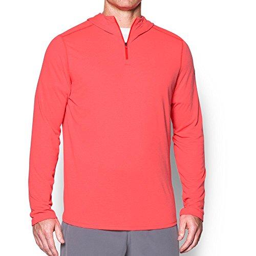 Under Armor Threadborne - Sudadera con Capucha para Hombre, otoño/Invierno, Hombre, Color Marathon Red (963)/Marathon Red, tamaño Small