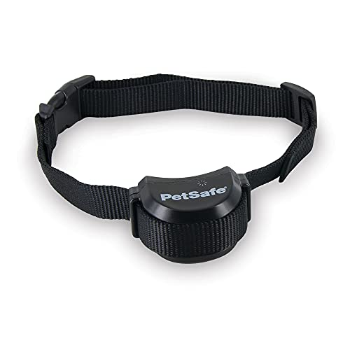PetSafe Stay + Play Wireless Fence Receiver Collar Only for Dogs and Cats, Waterproof and Rechargeable, Tone and Static Correction - From The Parent Company of INVISIBLE FENCE Brand