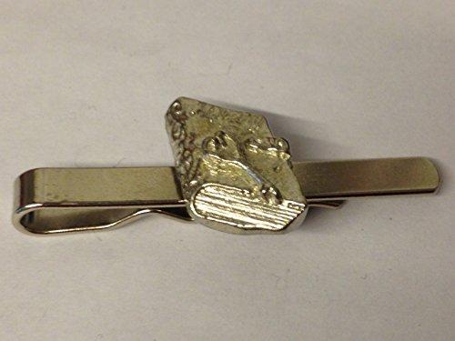 Diary & Schlüssel tg367aus feinem englischen Moderne Zinn auf einer Krawatte Clip (Slide) geschrieben von uns Geschenke für alle 2016von Derbyshire UK