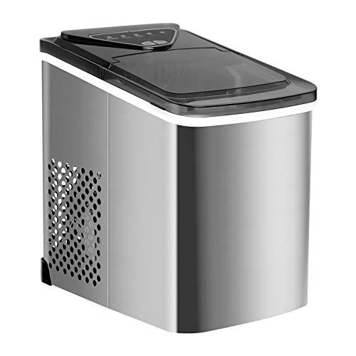 Northair Stainless Steel Portable Countertop Ice Maker