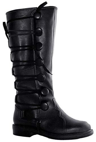 Ellie Shoes - Ren Mens Black Boots - Small