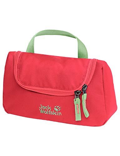 Jack Wolfskin Unisex Jugend Washroom Zusatztasche, Tulip red, One Size