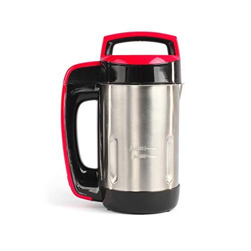 LIVOO DOP188 Blender à Soupe Chauffant | Soupes Moulinées, avec Morceaux, Smoothies, Milkshakes, Compotes | Bol en Acier Inoxydable, Capacité 1.1L | 850W