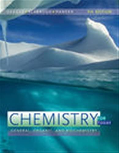 Chemistry for Today General Organic and Biochemistry product image