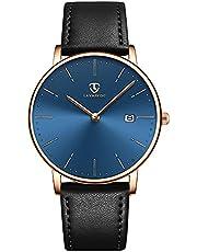 [BEN NEVIS] 腕時計 シンプル おしゃれ 薄型 カジュアル 日付表示 防水 アナログ クォーツ時計