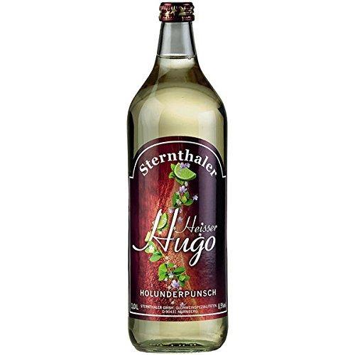 6 Flaschen Sternthaler Heisser Hugo 8,5%, Holunderpunsch
