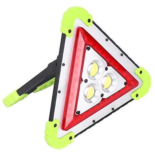 Dreieckige langlebige Campinglampe Dreieckige USB-Lade-LED-Lampe Tragbares Leichtgewicht für Wandern und Camping für Erwachsene und Kinder