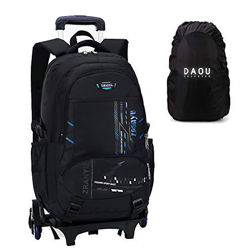 Trolley Tasche Geschenke Schulranzen Weihnachtsrucksack mit Rädern Schultasche Roulette Gepäckreisekabine Freizeit Freizeittasche Sport Man