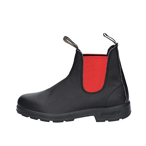 Blundstone Stivaletto in Pelle El Boot Black Red Nero | BCCAL0020-41