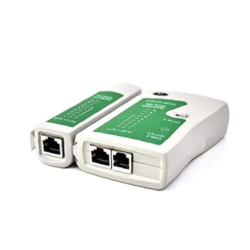lulongyansf Línea de Red Ethernet LAN Cable Tester RJ45 RJ11 Cat 5...