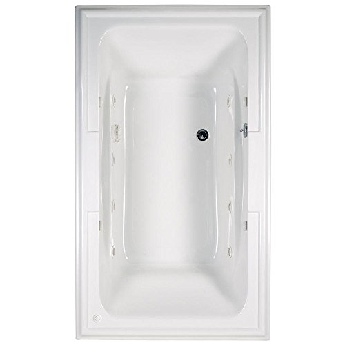 American Standard 2742048WC.020 Town Square Ecosilent Whirlpool Bath Tub, 6-Feet by 42-Inch, White American Standard 6ft Baths