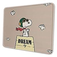 マウスパッド スヌーピー Snoopy リストレスト 手首クッション ゲーム ミニサイズ サイズ おしゃれ オフィス用 洗える 滑り止め 人間工学 疲労軽減 ファッション 防水 お洒落 Pc作業 ゲーミング 一体型 耐久性が良い