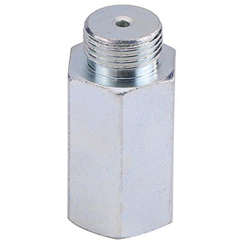 Qiilu Edelstahl Lambda O2 Sauerstoffsensor Extender Spacer für M18x1.5